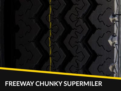 Chunky Freeway Supermiler tyres