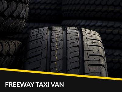 Freeway Taxi Van tyres